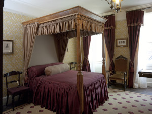 The Dickenses' bedroom and dressing room contents